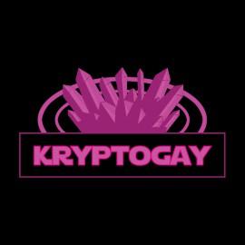 tee shirt cryptogay noir