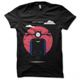tee shirt bat vespa noir