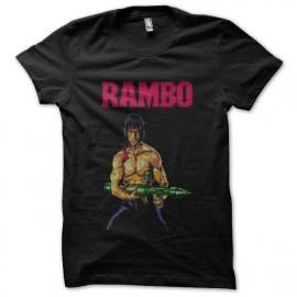 tee shirt rambo noir