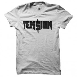 tee shirt tension chappie blanc