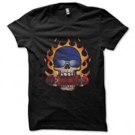 tee shirt skate or die noir