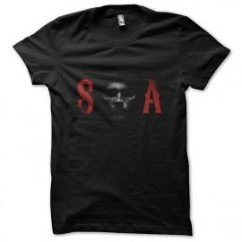 tee shirt S O A noir