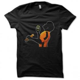 tee shirt Bruce Lee music noir