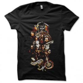 tee shirt sons of anarchy fx design noir