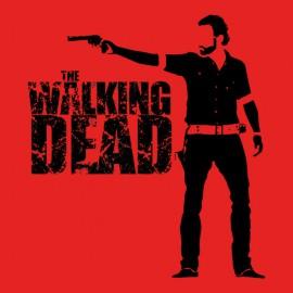 tee shirt the walking dead rouge