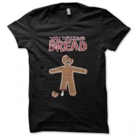 tee shirt the walking bread noir