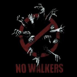 tee shirt no walkers noir