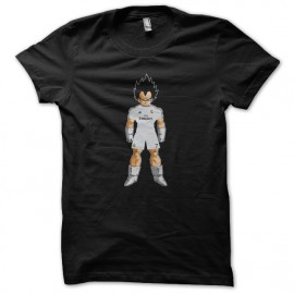tee shirt Vegeta real madrid noir