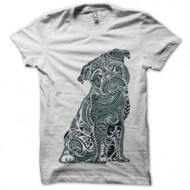 tee shirt carlin blanc