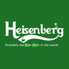 tee shirt heisenberg carlsberg breaking bad vert