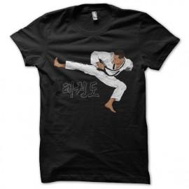 tee shirt taekwondo noir