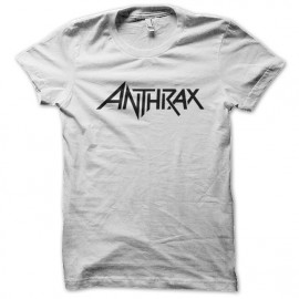 tee shirt Anthrax blanc