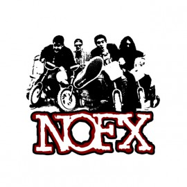 tee shirt nofx drugs are good blanc