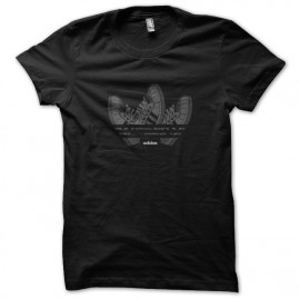 tee shirt adidas funny noir