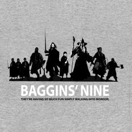 tee shirt Baggins'nine gris
