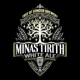tee shirt minas tirith brasserie