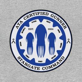 tee shirt stargate command gris