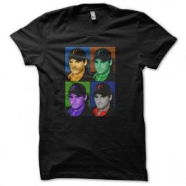 tee shirt federer color noir