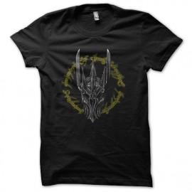 tee shirt sauron l'anneau unique noir