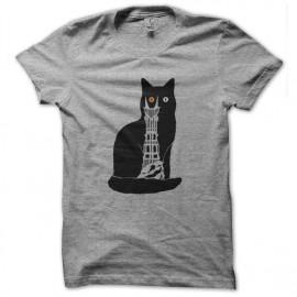 tee shirt chat de sauron mordor gris