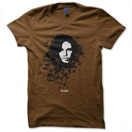tee shirt the crow jon snow marron