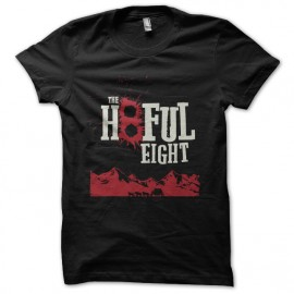 tee shirt the hatefull eight noir