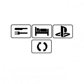 eat, sleep, play !