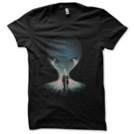 tee shirt x-files roswell noir
