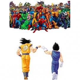 Dragon ball vs Marvel