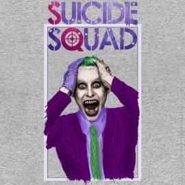 tee shirt Suicide Squad gris