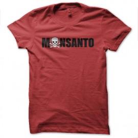 tee shirt monsanto dead rouge
