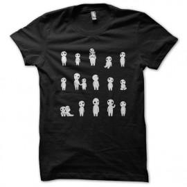 tee shirt esprits de la nature noir