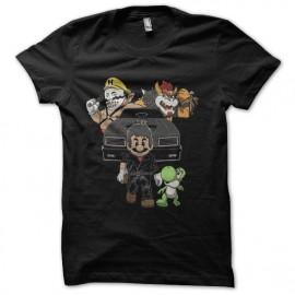 tee shirt mario moonwalker noir