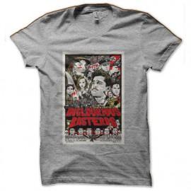 tee shirt inglourious basterds bd gris
