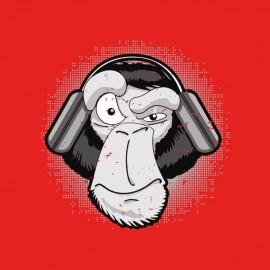 tee shirt dj monkey fada