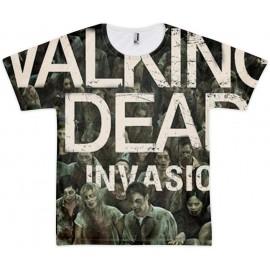 tee shirt walking dead invasion