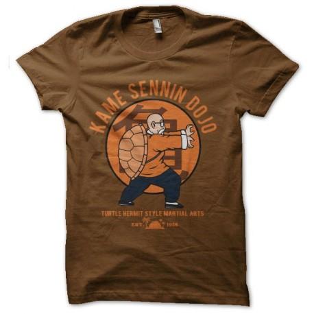 tee shirt kame sennin dojo tortue genial