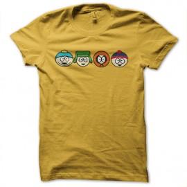 tee shirt south park dinasty jaune