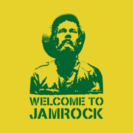 tee shirt jami rock reggae jaune