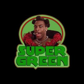 tee shirt super green 5 element