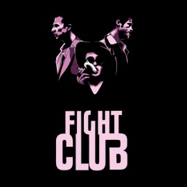 tee shirt fight club vector