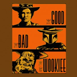 tee shirt good bad wookie