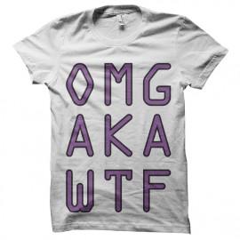 tee shirt omg aka wtf