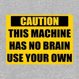 tee shirt attention cerveau