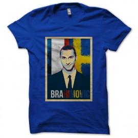 tee shirt Ibrahimovic bleu