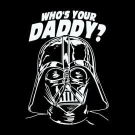 tee shirt dark vador daddy