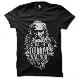 tee shirt straight outta valinor gandalf