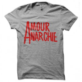 tee shirt amour anarchie