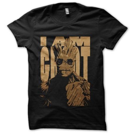 tee shirt i am groot guardiens de la galaxie