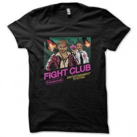 tee shirt fight club 8 bits